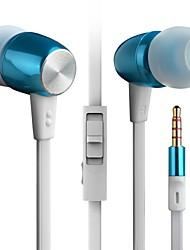 Byz K460 (oi-fi de baixo pesado) in-ear fone de ouvido de metal telefone celular