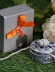 cheap -Round With Pearl Jewelry Box