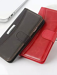 Simulation of High-Grade Leather Phone Holster Solid for iPhone 6/6S(Assorted Colors)