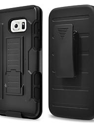 رخيصةأون -غطاء من أجل Samsung Galaxy حالة سامسونج غالاكسي ضد الماء / ضد الصدمات / ضد الغبار غطاء خلفي درع قاسي الكمبيوتر الشخصي إلى S8 Plus / S8 / S7 edge