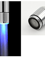 Battery-Free Stylish Water Powered Kitchen LED Blue Light Faucet Light