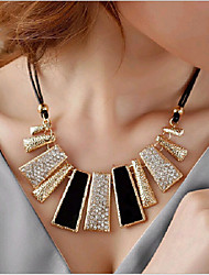 cheap -Women's Geometric Irregular Statement Jewelry Choker Necklace Statement Necklace Alloy Choker Necklace Statement Necklace , Party