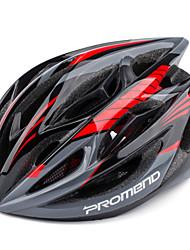 Недорогие -PROMEND Универсальные Велоспорт шлем 19 Вентиляционные клапаны ВелоспортГорные велосипеды Шоссейные велосипеды Велосипеды для активного