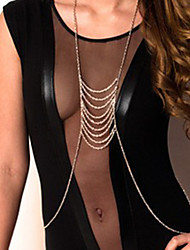 cheap -Women's Belly Chain Body Chain Alloy Personalized Unique Design Tassel Fashion European Others Body Jewelry For Christmas Gifts Daily