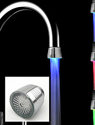 cheap -LED Water Faucet Light Colors Changing Glow Shower Stream Tap Kitchen Bathroom Accessories
