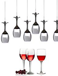 abordables -UMEI™ Nouveauté Lampe suspendue Lumière dirigée vers le bas - Style mini, LED, 90-240V, Blanc Crème / Blanc, Source lumineuse de LED