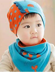 Girls Boys Hats & Caps Baby Bibs,Winter Cotton