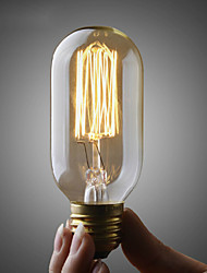 cheap -UMEI™ 1pc 40W E26/E27 T45 Warm White 2300 K Incandescent Vintage Edison Light Bulb AC 110-130V AC 220-240V V