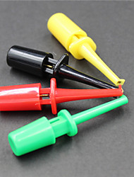 cheap -Logic Analyzer Test Clip - Black -Red - Green -Yellow(5 PCS)