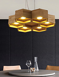 cheap -Pendant Lights LED Country Living Room / Bedroom / Dining Room / Study Room/Office / Kids Room / Game Room Wood/Bamboo