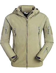 cheap -Hunting Jacket Thermal / Warm Windproof Rain-Proof Waterproof Zipper Front Zipper Dust Proof Wearable Breathable YKK Zipper Back Pocket