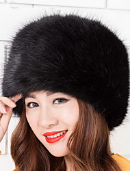 cheap -Women's Faux Fur Trapper Hat,Vintage Cute Casual Spring Fall Winter