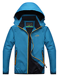 Men's Long Sleeve Regular Trench coat , Microfiber Pure Men's clothing ski-wear, Mountaineering clothes Outdoor sports