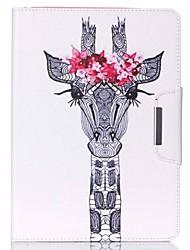 abordables -diseño especial funda folio con la novedad de cuero de dibujo coloreado o patrón de la funda para el aire iPad (2017) Pro10.5 9.7 Air iPad234 mini1234