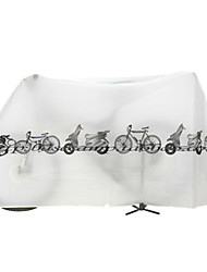 cheap -Bike Cover Waterproof Recreational Cycling / Cycling / Bike / Fixed Gear Bike Nylon White / Grey - 1pcs