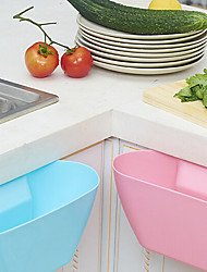 Kitchen Cabinet Doors Hanging Storage Box Glove Box Random Color
