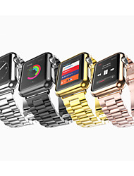 cheap -Watch Band for Apple Watch Series 3 / 2 / 1 Apple Butterfly Buckle Stainless Steel Wrist Strap