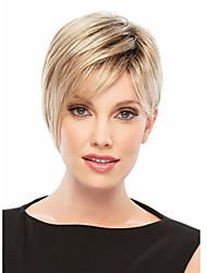 Недорогие -короткие волосы парики белых женщин европейские синтетические черные женщины парики натуральные парики короткие