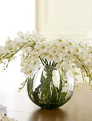 economico -Tessuto sintetico / PU Orchidee Fiori Artificiali