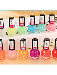 cheap -12pcs  Fashion Jelly Glow Nail Polish
