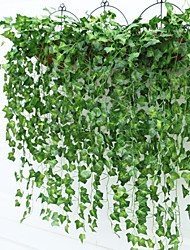 9 Bifurcate / Bouquet Boston Ivy Leaf Rattan(2 Bouquet) Home Decoration