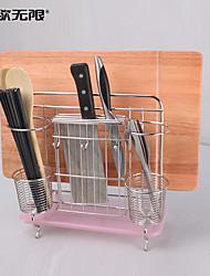 Недорогие -weiyuwuxian® многофункциональный нержавеющей стали 304 кухонная утварь полка