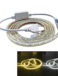 cheap -Jiawen Waterproof 26W 160LM 120x5050 SMD LED Flexible Light Strip (2M-Length / 220V)