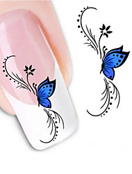 cheap -1 Water Transfer Sticker 3D Nail Stickers Abstract Cartoon Fashion Daily High Quality