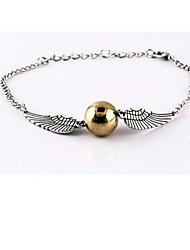 cheap -Unisex Harry Wings Golden Snitch Bludger Bracelet