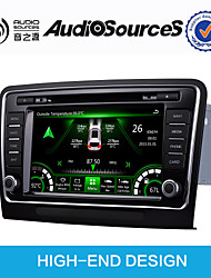 economico -8 pollice Windows CE 6.0 Bluetooth integrato / GPS / Interfaccia 3D per Volkswagen Supporto / Comandi al volante / Schermo touch / AVI