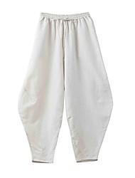 cheap -KSUA® Women's Yoga Pants Pants Breathable / Quick Dry / Antistatic Blue / Light Yellow Yoga / Pilates M / L / XL