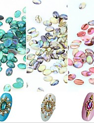 cheap -5PCS Shell Lines Rhinestone Nail Art Decorations