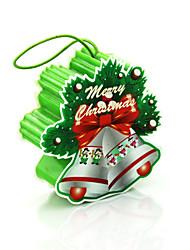 regalo di natale ha portato decorazioni Babbo Natale illumina la lampada