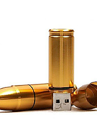 abordables -bala por mayor modelo de memoria USB 2.0 de 16 GB unidad flash stick