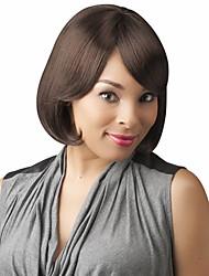 abordables -top belle coiffure bob remy vierge capless femelle perruques de cheveux de la main liée