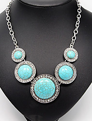 cheap -Women's Turquoise  -  Vintage Party Fashion Necklace For Daily