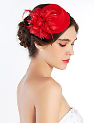 cheap -Women's Fabric Headpiece-Wedding Special Occasion Outdoor Hats
