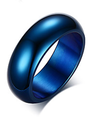 cheap -Z&X® Fashion Personality Titanium Wedding Steel Ring Band Rings Party / Daily / Casual 1pc