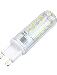 3w g9 led bi-broches lumières t 72 smd 3014 200-300lm blanc chaud blanc froid 3000-3500k / 6000-6500k dimmable ac 220-240v
