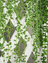 baratos -Flores artificiais 1 Ramo Estilo Moderno Plantas Guirlandas & Flor de Parede