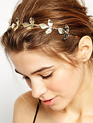 Women's Alloy Headband,Vintage Cute Party Work Casual All Seasons Gold