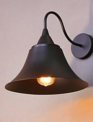 cheap -American Country Iron Cap Wall Lamp, Wrought Iron Wall Lamp, Archaize Srestoring Ancient Ways