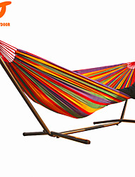 cheap -SWIFT Outdoor High Quality 280x160cm Colorful Cotton Canvas outdoor  2 Person Hammock