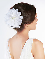 cheap -Gorgeous Satin/ Tulle With Rhinestone Wedding Bridal Flowers/ Headpiece