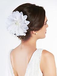 ieftine -satin superba / tul cu stras nunta flori de mireasa / caciula
