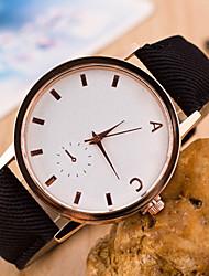 Недорогие -zzak женщин / мужчин стальной ленты аналогового кварцевого случайные часы более цветов