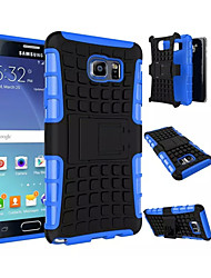cheap -Case For Samsung Galaxy Samsung Galaxy Note Shockproof Back Cover Armor PC for Note 5 Edge Note 5 Note 4 Note 3
