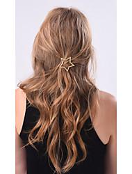 cheap -Women's Alloy Hair Clip Golden
