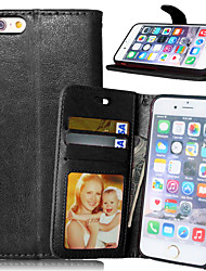 cheap -Luxury PU Leather Card Holder Wallet Stand Flip Cover With Photo Frame Case For iPhone 7 7 Plus 6s 6 Plus