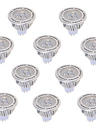GU5.3(MR16) LED Spotlight MR16 3 COB 450 lm Warm White Cold White 2800-3200/6000-6500 K Decorative AC 85-265 DC 12 AC 12 V